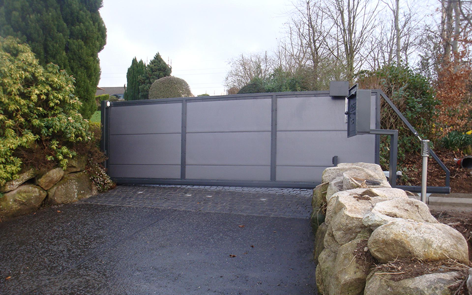 Sliding gate automation (Courtesy of Gate Automation Co Ni)