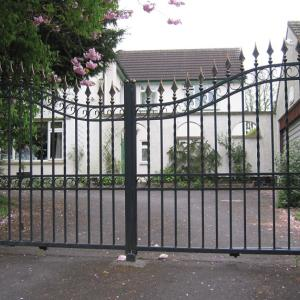 Autumn Hill wrought iron gate