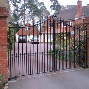 Epsom wrought iron gate