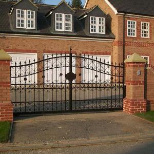 Gunners Vale wrought iron gate